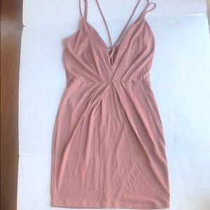 Mauve Charlotte Russe Mini Dress